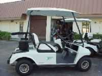 Club Car Golf Cart 03 2 Passenger White