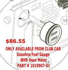 1019907 01 gasoline fuel gauge with hour meter new 1019907 03 curtis hour meter wiring diagram at virtualis.co