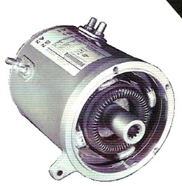 Ge Motor For Club Car Electric 1994 Up 36 48 Volt Series