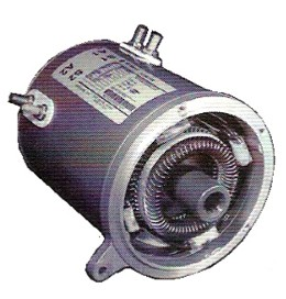 Ge Motor For Club Car Electric 1995 Up 48 Volt Series