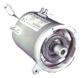 Electric Motor For Club Car 2000 Up 48 Volt