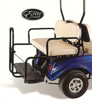 MID 2000 UP D S MODEL GOLF CARTS ONLY CLUB CAR CART REAR SEAT KIT REGULAR STYLE