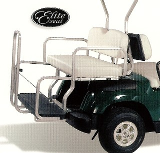 1984 TO MID 2000 CLUB CAR GOLF CART REAR SEAT KIT